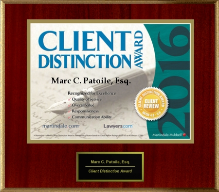 2016 client distinction award